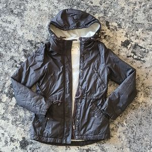 H&M Lined Hooded Coat